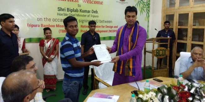 Tripura signs MoU; to appoint consultants to market bamboo products