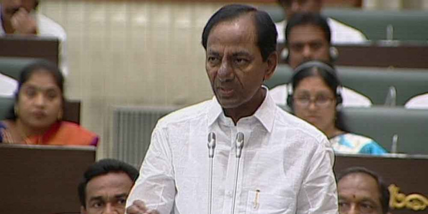KCR vows to make his birth village a 'gold chunk'