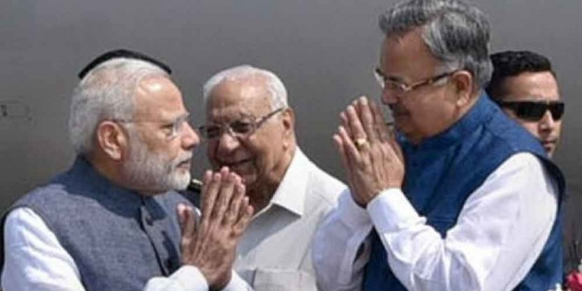 Government willing to fulfill poll promises: Raman Singh lauds Modi cabinet