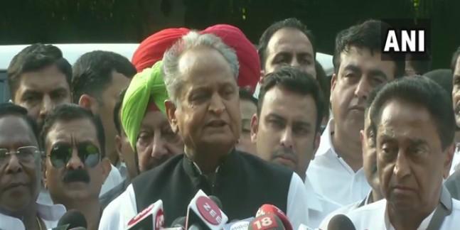 राहुल गांधी से मिलने के बाद CM गहलोत बोले, हमारे विचारों पर देंगे ध्यान