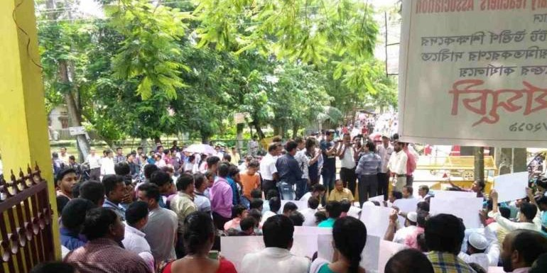 'I am also a driver': Assam teachers protest against education minister's 'driving license' remark