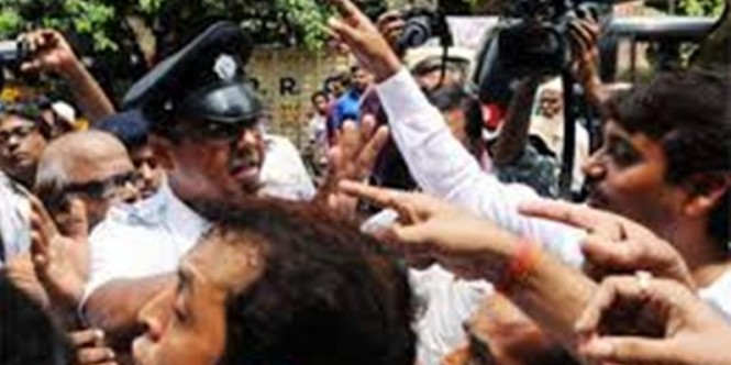 Police arrest 13 BJP workers after clashes with TMC workers