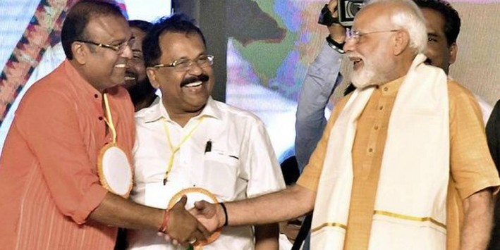 No S-word, but Modi makes it core poll issue