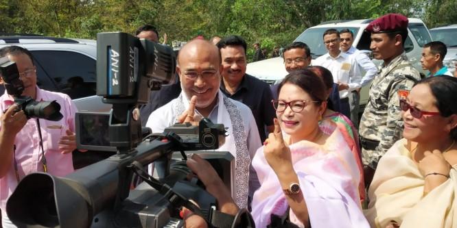 CM Biren casts vote