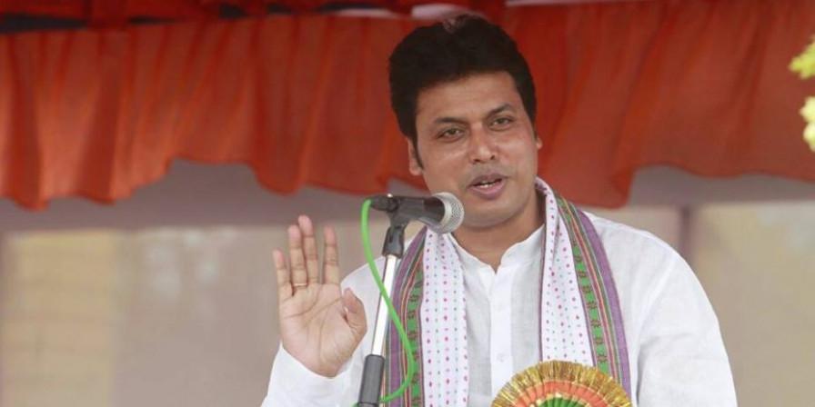 Tripura CM Biplab Deb vows to take stern action against corruption