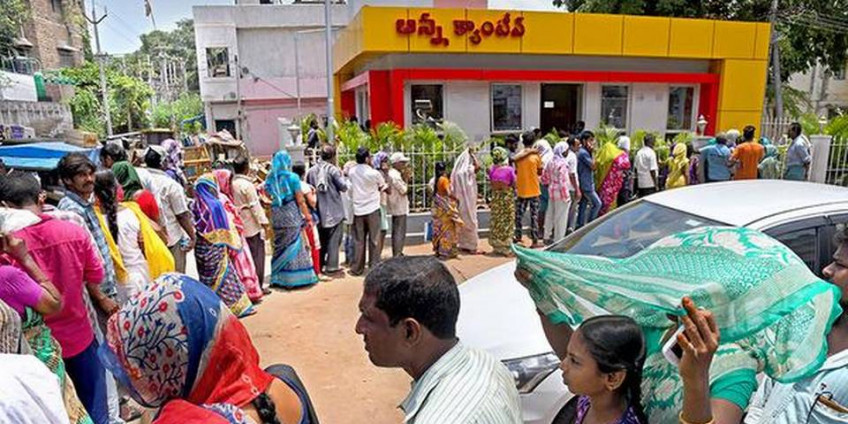 Are Anna Canteens being closed in Andhra Pradesh?