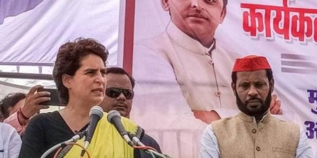 प्रियंका गांधी ने रायबरेली में सपा कार्यकर्ताओं को किया संबोधित, सब हैरान