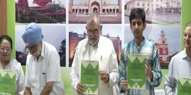 दिल्ली अल्पसंख्यक आयोग ने कहा- सरकारी भूमि पर नहीं बनीं मस्जिदें, BJP सांसद पर हो FIR