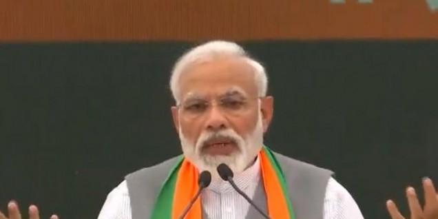 बीजेपी ने चुनाव आयोग से की शिकायत, कहा- कांग्रेस ने पीएम मोदी और हिंदू धर्म का किया अपमान