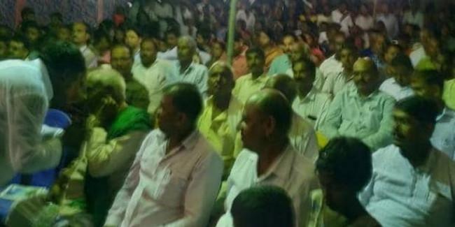 गया: हैलोजन जली और विधायक मंत्री समेत सैकड़ों लोगों को दिखना हो गया बंद