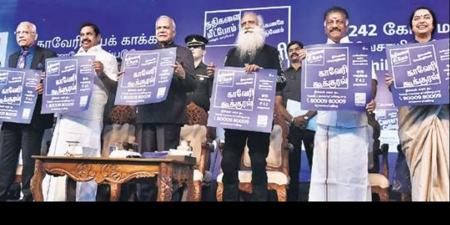 Tamil Nadu CM Palaniswami backs for the renovation of Kaveri