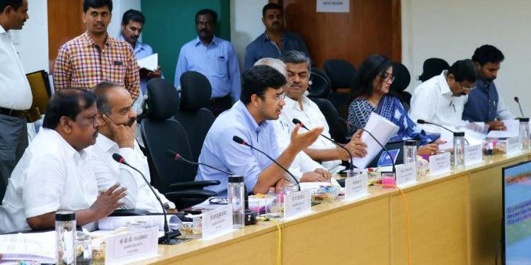 BJP's Tejasvi Surya Seek More Trains for Suburban Rail