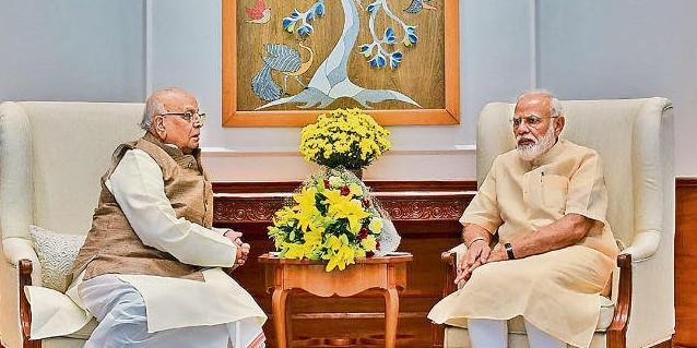 राज्यपाल लाल जी टंडन ने प्रधानमंत्री नरेंद्र मोदी व गृहमंत्री अमित शाह से की मुलाकात