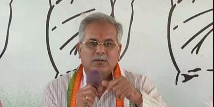 CM भूपेश बघेल बोले- BJP ने छोटे से सर्जिकल स्ट्राइक को बनाया बड़ा मुद्दा,सूबत मांगने पर कहते है देशद्रोही!
