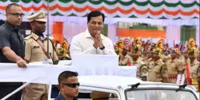 Sarbananda Sonowal inaugurates Assam's first-ever CNG fuelling station