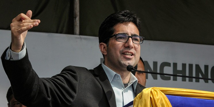 Shah Faesal and Engineer Rashid, the new faces of Kashmir Politics, tie up for assembly polls