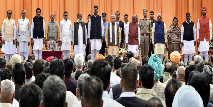 हरियाणा में मंत्रियों को बांटे गए विभाग, जानिए नेताओं का पोर्टफोलियो