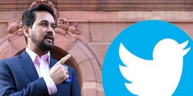 नामांकन के दिन ट्विटर पर ट्रेंड हुए अनुराग ठाकुर, बनाया रिकॉर्ड