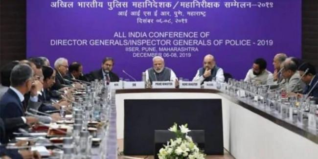देशभर के डीजीपी और आईजीपी की बुलवाई गई बैठक