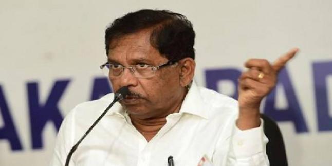 I-T raids former Deputy CM G Parameshwara's residence