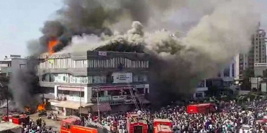 Surat fire: Gujarat CM Vijay Rupani orders fire safety audit of schools, malls after 20 die at coaching centre