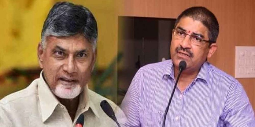 Chief secretary meets Chandrababu Naidu, discusses on cabinet meet