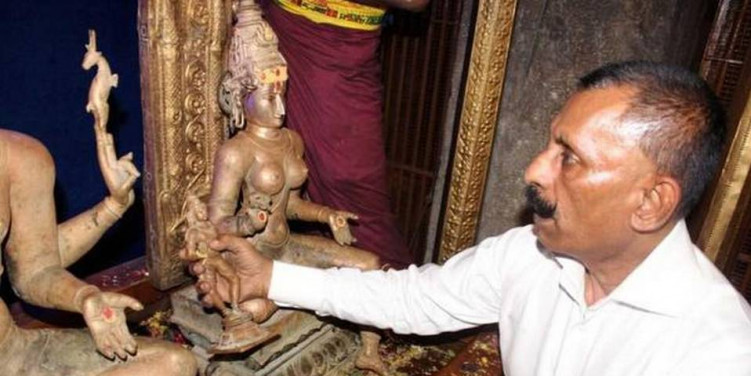 Government trying to stall idol theft inquiry, Pon Manickavel tells HC