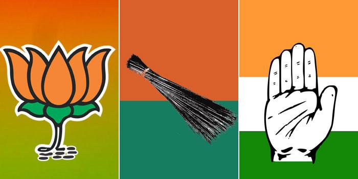 गुटबाजी से बिखरी कांग्रेस, आप और भाजपा ने शुरू की चुनाव की तैयारी