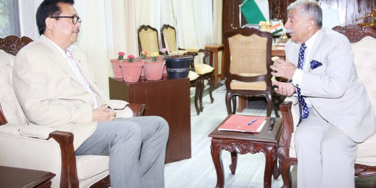 Arunachal dy CM briefs Governor about financial status of State
