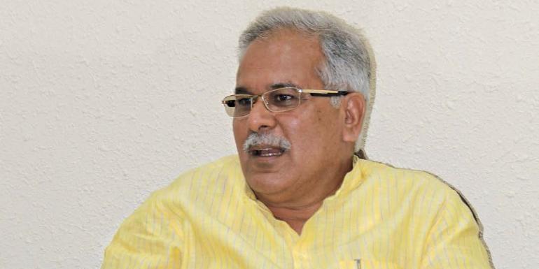 CM भूपेश बघेल का ट्वीट- नक्सल प्रभावित गांव में शिक्षा की नई रोशनी फैला रही है सरकार