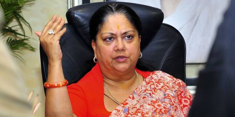 Rajasthan former CM Vasundhara Raje slams Congress, asks what their governments did for 55 years