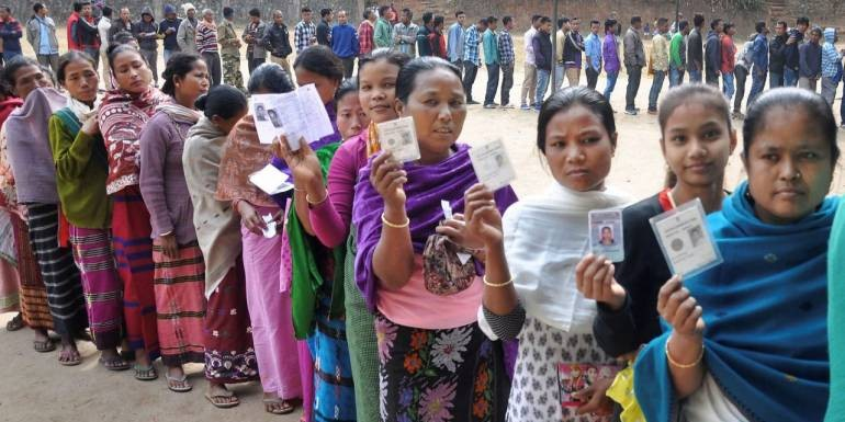 Nagaland records most peaceful LS polls in country