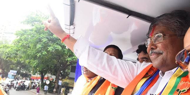 Mahashtra BJP Chief Chandrakant Patil Faces United Opposition Challenge in Pune's Kothrud