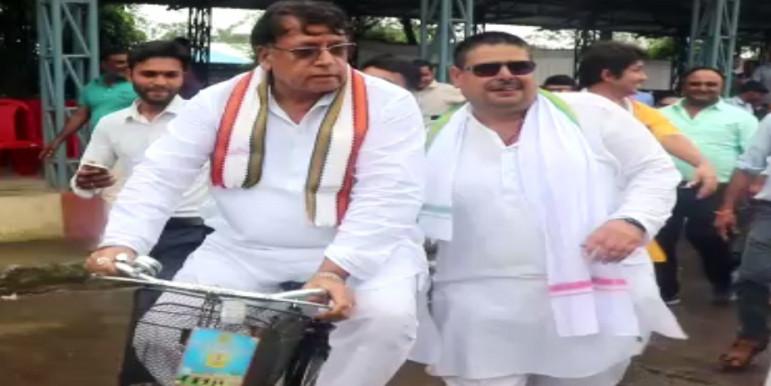 साध्वी प्रज्ञा के बयान पर पीसी शर्मा का पलटवार, कहा- कांग्रेस जादू-टोने में विश्वास नहीं करती