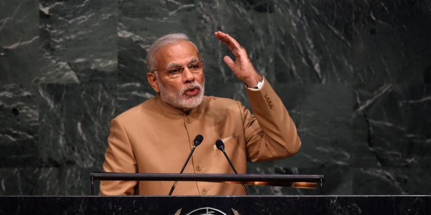 संयुक्त राष्ट्र महासभा में बोले मोदी, 'आतंकवाद पूरी दुनिया और मानवता की सबसे बड़ी चुनौतियों में से एक है'