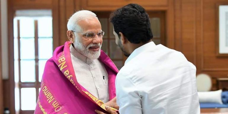 पीएम से मिले जगमोहन रेड्डी, कहा- भाजपा 250 तक सिमटती तो इस शर्त पर देते समर्थन