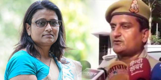 'BJP की महिला सांसद ने ड्यूटी पर जड़ा तमाचा', कांस्टेबल ने दर्ज कराई शिकायत