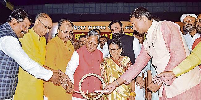 पटना : 'जिस पार्टी को रामदेव महतो ने सींचा वह सरकार चला रही'