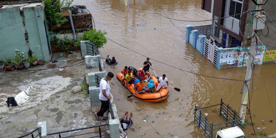 Centre to carry out relief work in the flood-affected districts of the Rajasthan