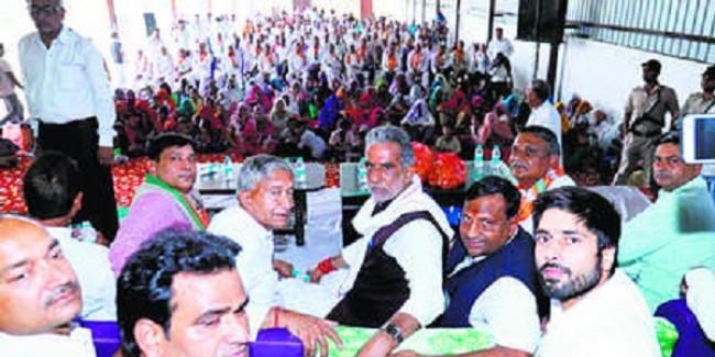 कांग्रेस ने भ्रष्टाचार, भाजपा ने देश को दिया विकास : गुर्जर