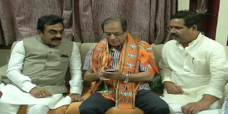 क्रिकेट कमेंटेटर सुशील दोषी BJP में शामिल, राकेश सिंह ने दिलायी सदस्यता
