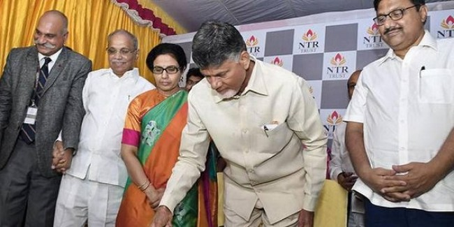 Naidu defends holding review meetings