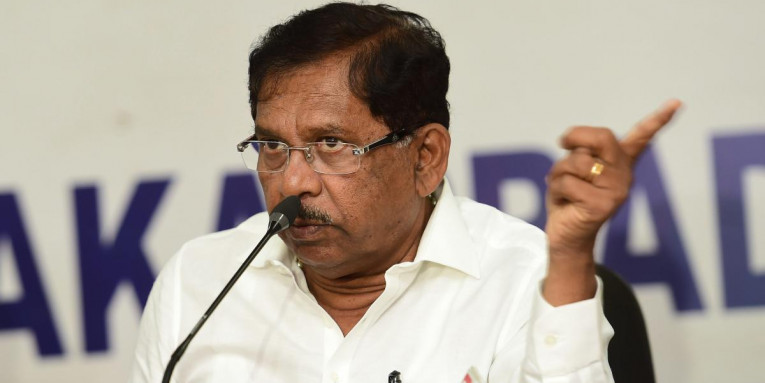 May Form an Alliance With JD(S) Again: G Parameshwara
