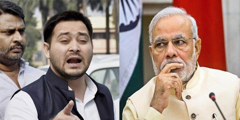 PM मोदी-CM नीतीश के इशारे पर लालू के साथ हो रही ज्यादती, तेजस्वी का आरोप