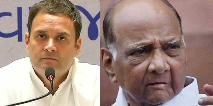 सरकार द्वारा निशाना बनाए जाने वाले शरद पवार विपक्ष के नए नेता हैं : राहुल गांधी