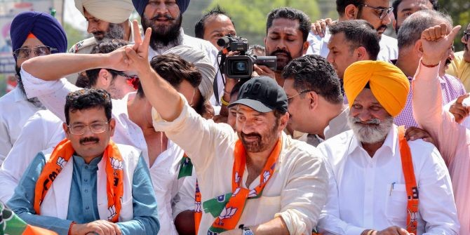 LS polls: Sunny Deol holds roadshow in Punjab's Pathankot