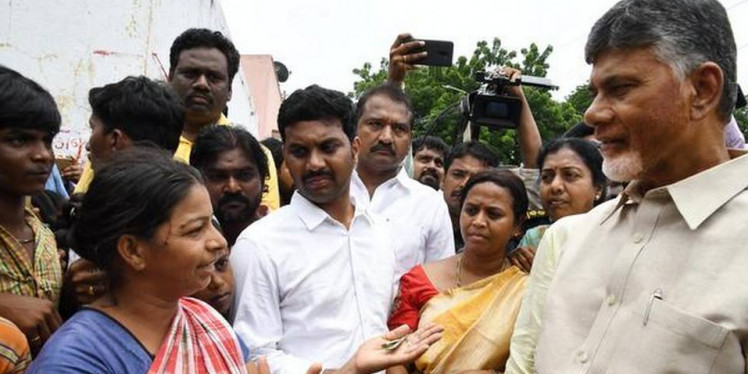 Floods artificial, aimed at troubling me, says Naidu