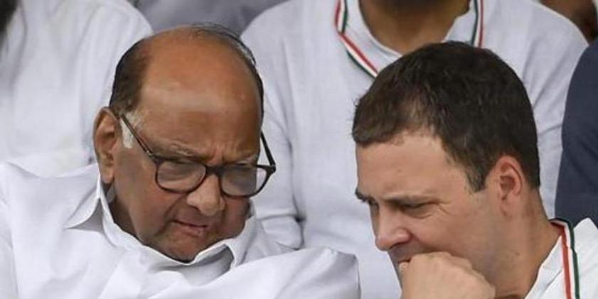महाराष्ट्र में कांग्रेस को नहीं मिले नए साथी, पुराना गठबंधन ही देगा BJP-शिवसेना को चुनौती