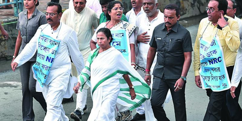 Will Not Allow NRC in Bengal: Mamata Banerjee Warns BJP