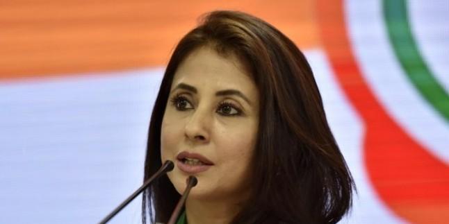 कांग्रेस नेता और एक्ट्रेस उर्मिला मातोंडकर ने कहा- मोदी के अधूरे वादों पर कॉमेडी फिल्म बननी चाहिए
